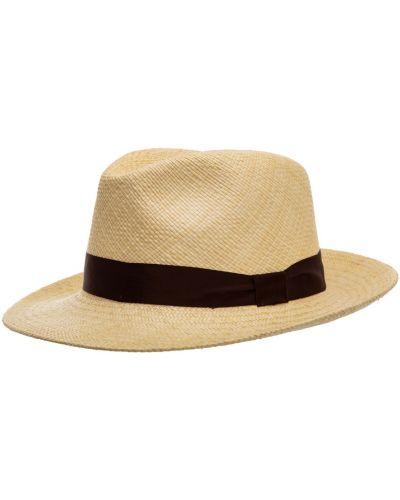 Beżowy kapelusz Lardini