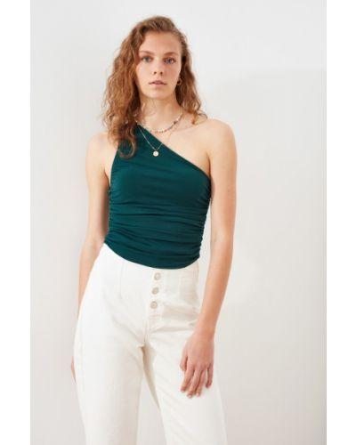 Bluzka casual - biała Trendyol