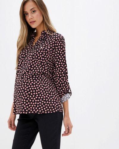 Блузка с длинным рукавом для беременных черная Dorothy Perkins Maternity