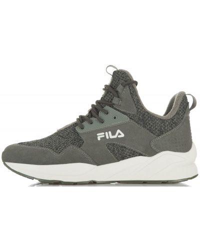 Высокие кроссовки на шнуровке Fila