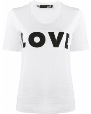 Топ облегающий футбольный Love Moschino