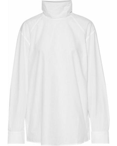 Biały top bawełniany Helmut Lang