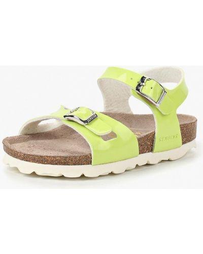 Желтые сандалии Genuins
