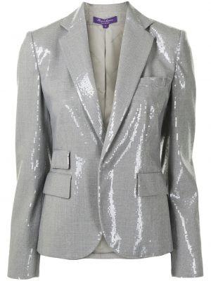 Блейзер длинный - серый Ralph Lauren Collection