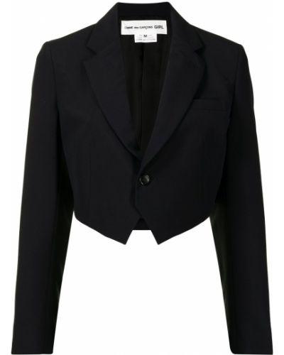 Шерстяной синий пиджак Comme Des Garçons Girl