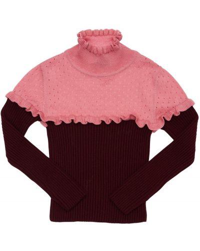Бордовый свитер Mi.mi.sol.