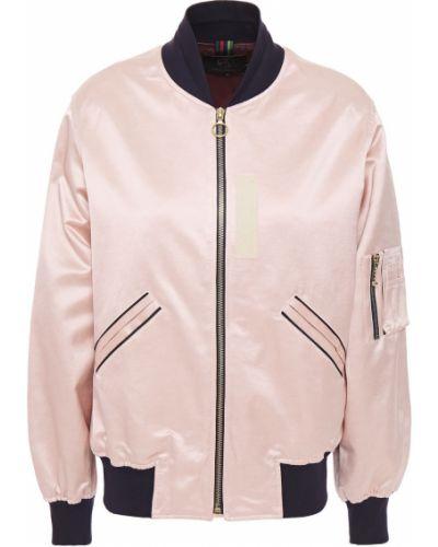 Хлопковая ватная розовая куртка Ps Paul Smith
