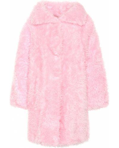 Пальто розовое Balenciaga