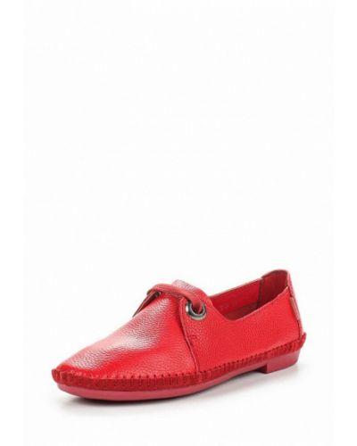 Красные кожаные ботинки Zenden Comfort