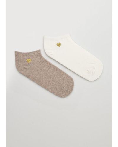 Хлопковые носки - коричневые Fulloff
