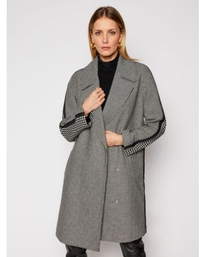 Płaszcz wełniany - szary Armani Exchange