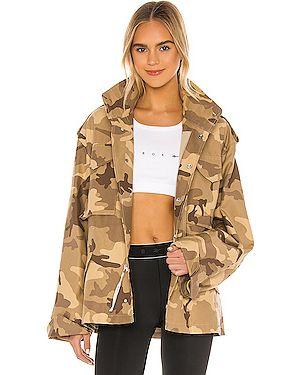 Куртка с капюшоном милитари на молнии Reebok X Victoria Beckham