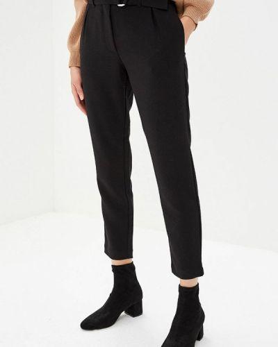 Черные брюки повседневные Tom Tailor