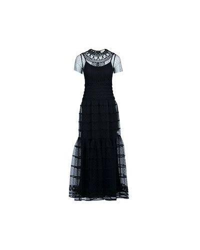 Черное вечернее платье Valentino Red