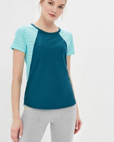Зеленая спортивная футболка Under Armour