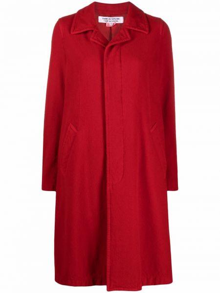 Красное пальто с карманами Comme Des Garçons Comme Des Garçons