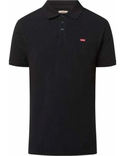 T-shirt bawełniana - czarna Levi's