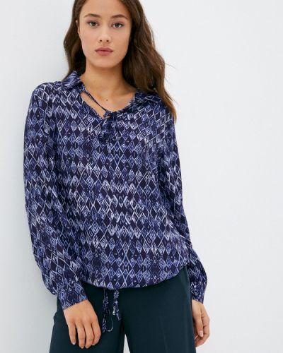Синяя зимняя блузка Franco Vello