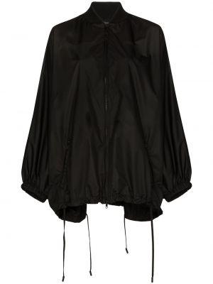 Płaszcz przeciwdeszczowy - czarny Valentino