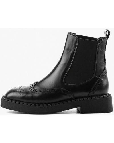 Кожаные ботинки челси - черные Ilvi