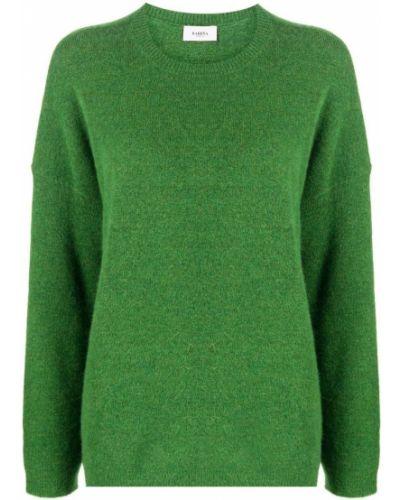 Джемпер с вырезом - зеленый Barena