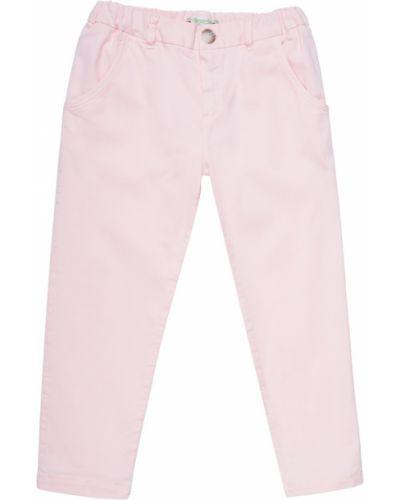 Джинсы розовый Bonpoint