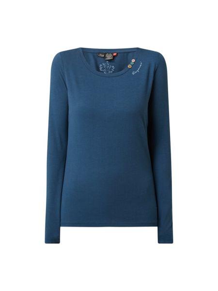 Niebieska bluzka bawełniana Ragwear