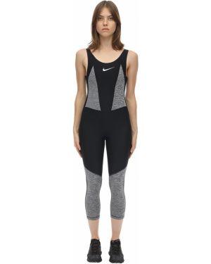 Czarny garnitur bez rękawów Nike