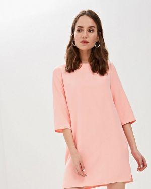 Платье розовое прямое Elardis