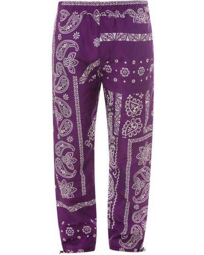 Spodnie - fioletowe Palm Angels