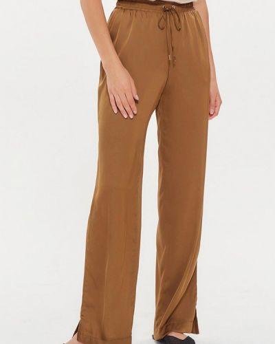 Повседневные коричневые брюки Moru