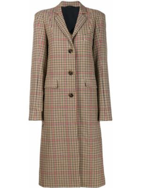 Пальто классическое с капюшоном на пуговицах с лацканами Vivienne Westwood Anglomania