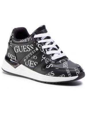 Czarny sneakersy Guess