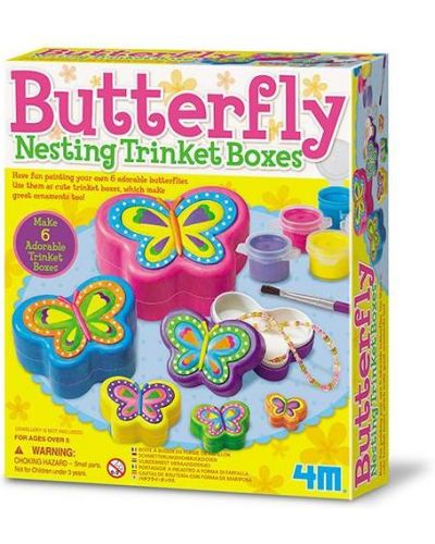 Бабочка с бабочками 4м