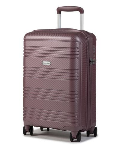 Fioletowa walizka Travelite