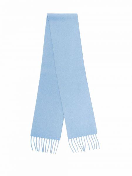 Niebieski z kaszmiru szalik Dsquared2