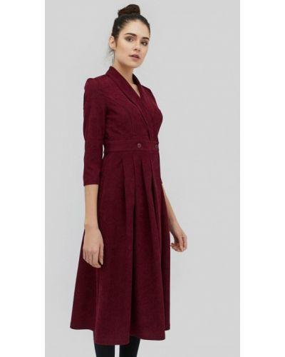 Платье с запахом осеннее Cardo