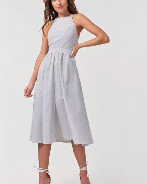 Платье с поясом с открытой спиной на бретелях Fly