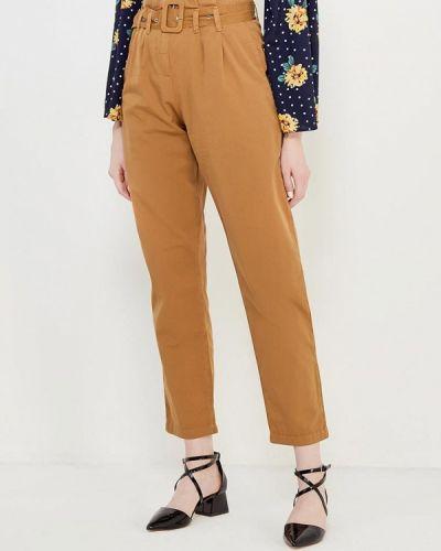 Коричневые брюки Topshop
