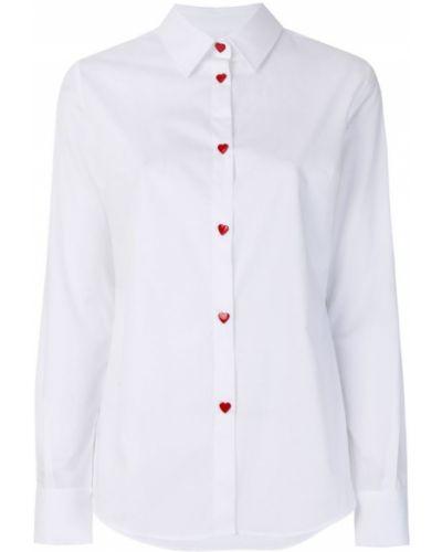 Классическая рубашка с длинным рукавом Love Moschino