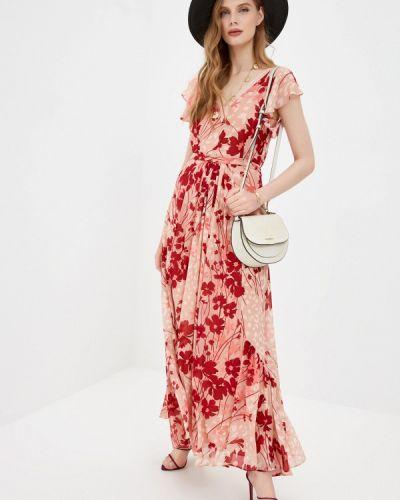 Повседневное розовое платье Twinset Milano