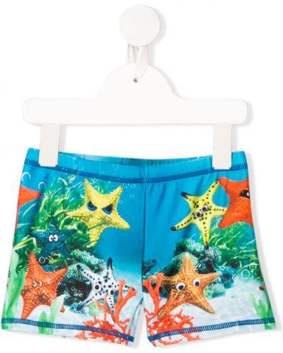 Kąpielówki - niebieskie Molo Kids