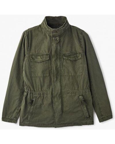 Куртка осенняя зеленый легкая Gap