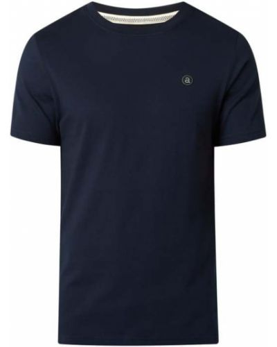Niebieska t-shirt bawełniana Anerkjendt