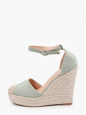 Текстильные зеленые туфли Go-go