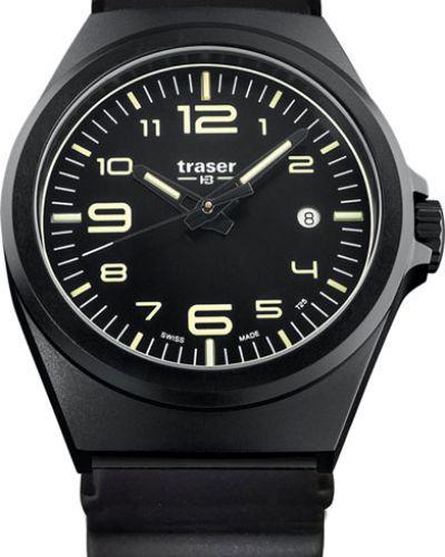 Часы водонепроницаемые с подсветкой швейцарские Traser