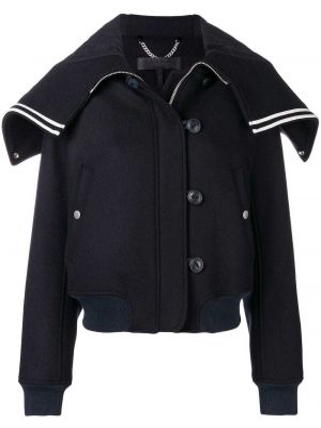 Синяя короткая куртка Rag & Bone