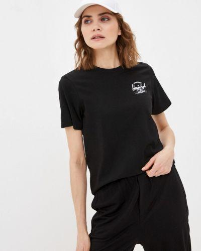 Черная футболка Herschel Supply Co