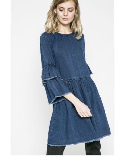 Платье миди джинсовое с поясом Only