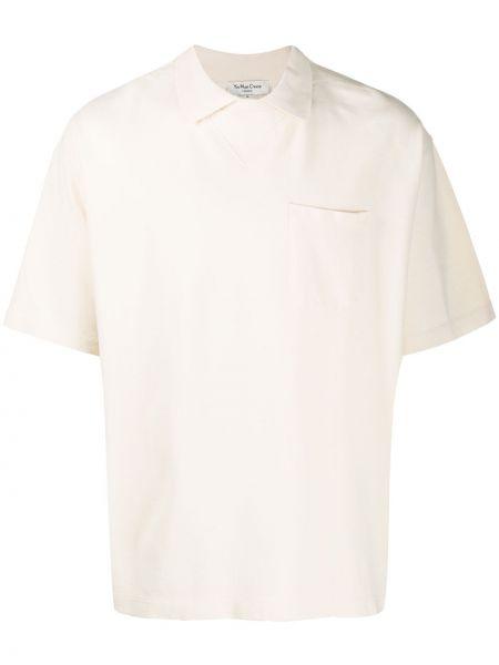 Koszula krótkie z krótkim rękawem prosto z kołnierzem Ymc